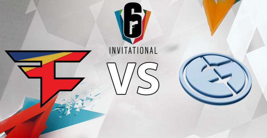 Invitational Viertelfinale #3 – Faze vs Evil Geniuses