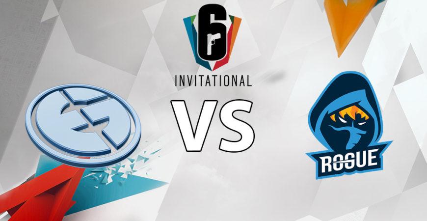 Invitational Halbfinale #2 – Evil Geniuses vs Rogue
